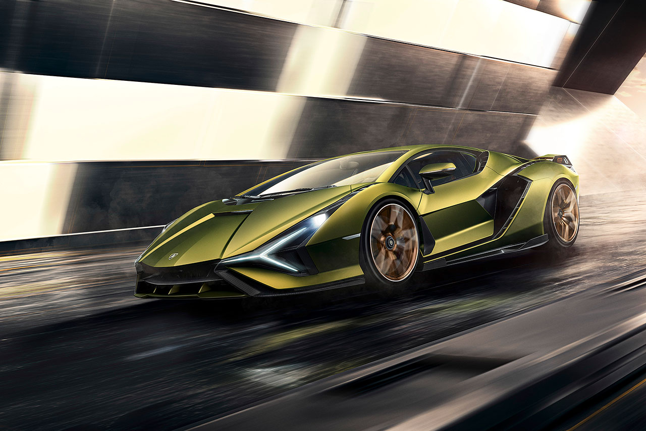 The Official Press Release of Sián FKP37 - Lamborghini Sián FKP 37