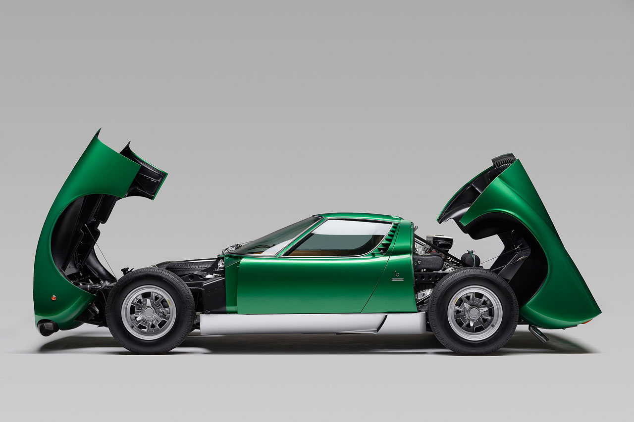 """""""This is a very important car, not only for its place in history as the Geneva show car and the forerunner of future Miura SV models built, but as the first completed project of Lamborghini PoloStorico,"""" said Enrico Maffeo, Head of PoloStorico. """"We are delighted to be able, with the consent of the owner, to show this car for the first time in its perfectly restored state, at the important Amelia Island event."""" """"This is the year in which the Lamborghini Miura celebrates its fiftieth anniversary. This car not only illustrates the iconic appeal of the Miura, widely acknowledged as the forerunner of modern super sports models, but is also a perfect example of the expertise available in Lamborghini PoloStorico in providing the most authentic Lamborghini restorations."""" Lamborghini PoloStorico officially opened in spring 2015, supporting historic models and Lamborghini's heritage through four main areas: restoration of historic Lamborghini models; archive management; original Lamborghini spare parts for which around 70% of the historic car parc is covered; and official certification of Lamborghini historic cars."""