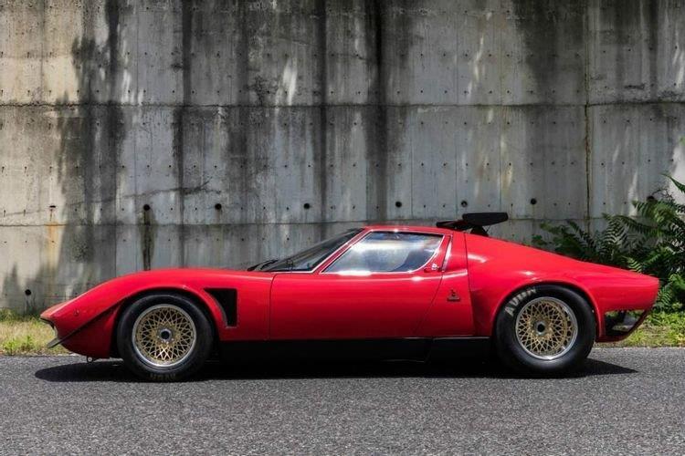 1968 Lamborghini Miura SVR